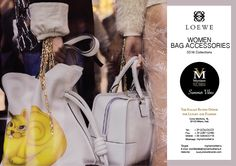 LOEWE SS16 WOMEN BAG ACCESSORIES available for an order at Myriam Volterra Luxury Buying Office! Contact us by phone, email, Skype or visit our office in Milan and we provide you with all the necessary information! http://www.luxuryitalianbrands.com