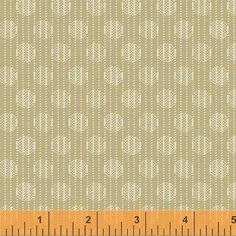 Tan Quilting Cotton Fabric, Dylan by Whistler Studios for Windham, 100% Cotton sold By-The-Yard, Great for Quilting, Sewing! by StashTraders on Etsy