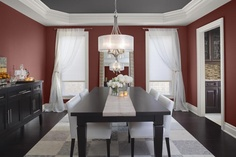 benjamin Moore hot apple spice. Colour in our dinning room
