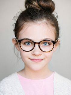 12541109b43df Kids Glasses    The Paige Striped Maple Childrens Glasses