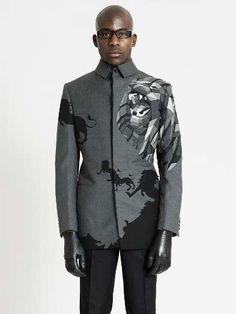 Escher-Inspired Suits - Ichiro Suzuki's RCA Graduate Collection Brings a Fourth Dimension to Fashion (GALLERY)