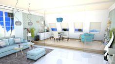attic - Dining room - by teffy