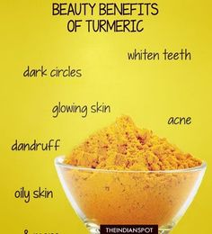Turmeric has anti-fungal, antiseptic and anti-bacterial properties as well as being a natural inflammatory, so it's ideal to use in skin care. Lighten Skin using turmeric: Turmeric is known for centuries for its anti-bacterial and antiseptic properties. Organic Skin Care, Natural Skin Care, Natural Beauty, Organic Baby, Lemon On Face, Honey Face, Turmeric Face Mask, Turmeric Facial, Turmeric Detox