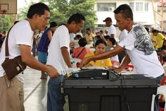 Election scenes in Cainta, Rizal