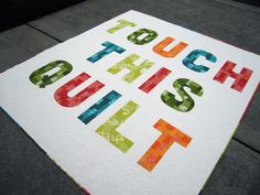 quilt inspiration by Oh, Fransson!