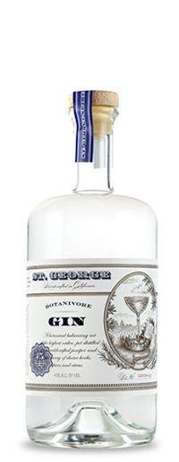 St George Spirits Botanivore Gin to complement your Cabinet of Curiosities. 19 botanicals including angelica root, bay laurel, bergamot peel and so forth working in concert.