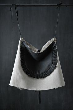 women linen apron