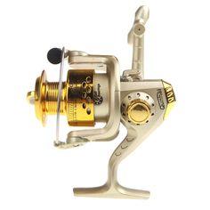 1Pcs Saltwater Fishing Spinning Reel SG3000 5.1:1 Golden//Black//Silvery 2018