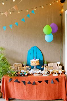 Classic & ROCKIN Flintstones Birthday Party by  One Stone Events