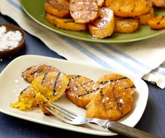 Honey-Glazed Chicken, Sweet Potato, and Peach Skewers   Recipe ...
