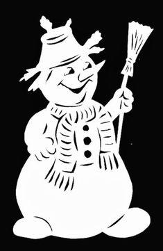 Christmas Window Sticker Template Praktic Ideas 9