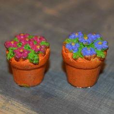 Fairy Garden Miniature Potted Flowers. SHOP now $6.99