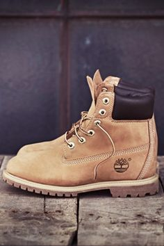 "Women's 6"" Premium Waterproof Boot - The icon of Timberland, proven to endure. want these so bad!!"