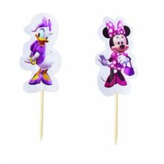 Wilton Minnie Mouse/Daisy Duck Cupcake Fun Pix, 24 Count