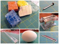 Picture of Materials Egg Dye, Egg And I, Easy Projects, Easter Eggs, Polymer Clay, Create, Simple, How To Make, Handmade