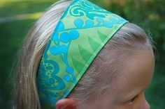 This site has a well done tutorial for making headbands