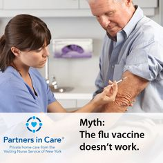 #FluFact: Certain studies show that the flu vaccine is 70%-90% effective in healthy adults under 65 years old