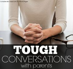 How to Have Tough Conversations with Parents in Preschool and Kindergarten
