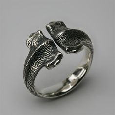 Hammerhead Shark Ring by Stephen Einhorn, London. Can't believe I got this for Christmas.