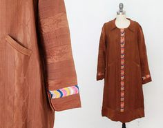 robe des années 1920 / Folk Flapper Dress / robe de Moire