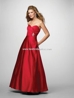 bridesmaid dress for a #Christmas #wedding! Alfred Angelo Bridesmaid Dresses - Style 7166