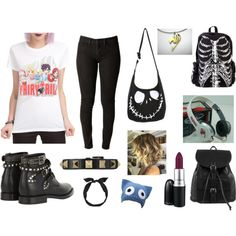"""""""Fairy Tail Outfit!"""" by wera987 on Polyvore"""
