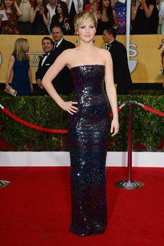 Jennifer Lawrence at the SAG Awards