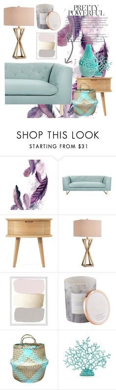 """Challenge: Pastel Time"" by kikiseppr ❤ liked on Polyvore featuring interior, interiors, interior design, home, home decor, interior decorating, Nimbus, Catalina and D.L. & Co."
