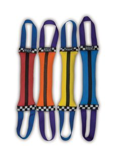 Double Tug Dog Toy - Made in the USA out of recycled fire hose.  Tough, durable and SAFE for your pet to play with!