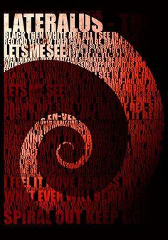 Lyrics of Lateralus, track of Tool album, Lateralus.