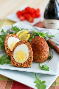 Traditional British Food: Scotch Eggs. http://foodmenuideas.blogspot.com/2014/03/traditional-british-food.html