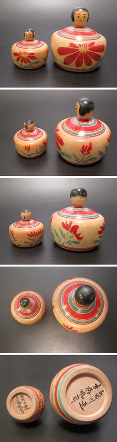 Takahashi Yuji 高橋雄司 (1934- ), Master Takahashi HeiJiro, Ejiko, 5.5 cm and 9.2 cm