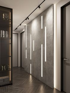 Wall panel - With modern and contemporary textured wall designs. Wall Panels with 24 different designs, varyi - Led Light Design, Ceiling Light Design, Lighting Design, Wall Cladding Interior, Wall Cladding Designs, Feature Wall Design, Corridor Design, Showroom Design, 3d Wall Panels