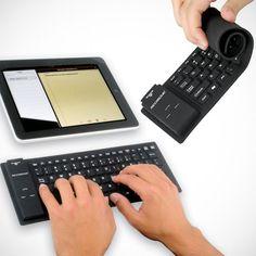 The Wireless Rollup Keyboard