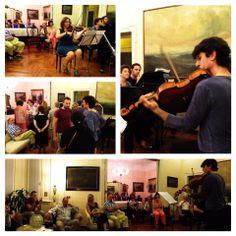 Il secondo concerto di Milano Haus Musik... Per partecipare ai prossimi, scriveteci a milanohausmusik@gmail.com!  ©Isadora De Pasquale