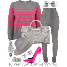 Fall 2016 Style Inspiration: 5 Fab Ways to Wear Stripes Casual Dress Outfits, Cute Swag Outfits, Chic Outfits, Fashion Outfits, Casual Wear, Diva Fashion, Womens Fashion, Autumn Winter Fashion, My Style
