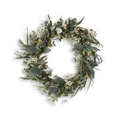Eucalypt wreath - green