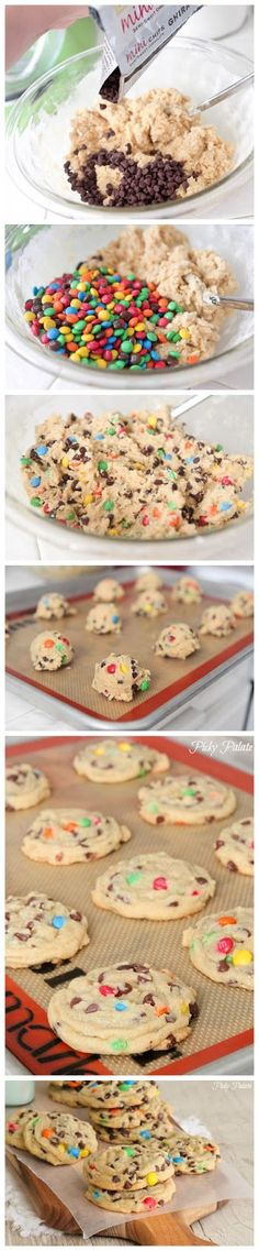 How To Make M Cookies
