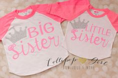 Big sister; Little sister; Raglan