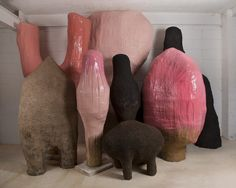 Sculptures for Agender_02 by Faye Toogood.