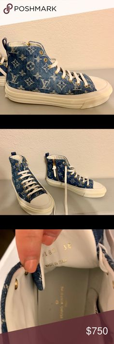 f954e3809de 7 Best Louis vuitton high tops images in 2018 | Adidas sneakers ...