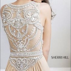2014 Scoop A Line Full Length Prom Dress Beaded Tulle Bodice Couture Embroidery, Embroidery Fashion, Lace Weddings, Wedding Gowns, Prom Dress 2014, Bridesmaid Dresses, Prom Dresses, Figure Skating Dresses, Fantasy Dress