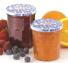 Le Parfait Jam Jars Add Gourmet Flair to Home Made Treats Food Storage Containers, Glass Jars, Kitchenware, Parfait, Treats, Homemade, Gourmet, Home Made, Sweet Like Candy