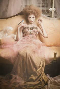 Beautiful gown—love the photo shoot creativity—fashion photographer, Emily Soto©❣ emilysotoblog.com