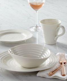 Portmeirion Dinnerware, Sophie Conran White Collection | macys.com