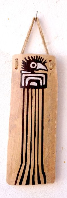 Teja decorada African Symbols, Indian Symbols, Mayan Glyphs, Arte Tribal, Santa Fe Style, First Nations, Sculpting, Stencils, Christmas Crafts