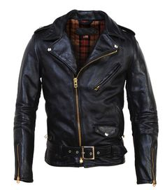 As far as leather jackets go, this one is tough to beat ~ Old Man Fancy.