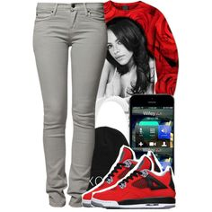 A fashion look from January 2014 featuring hoodie shirt, skinny jeans and Beats by Dr. Browse and shop related looks. Fashion Games, Party Fashion, Girl Fashion, Womens Fashion, Fashion Killa, Dope Outfits, Swag Outfits, Pretty Outfits, Aaliyah Outfits