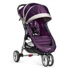 baby jogger city mini purple gray