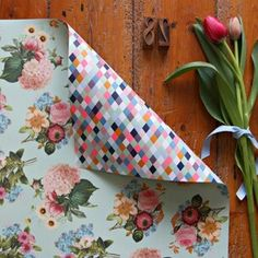 Bespoke word press gift wrapping